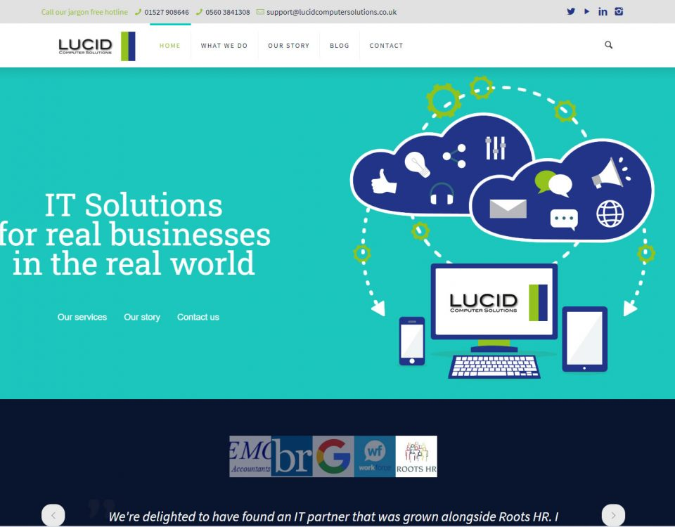Lucid Website Design