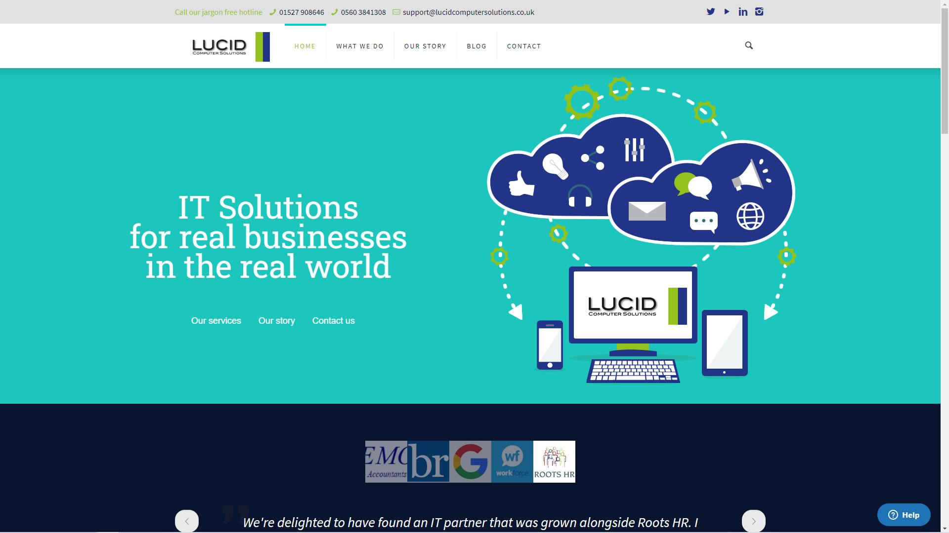 Lucid Website Design
