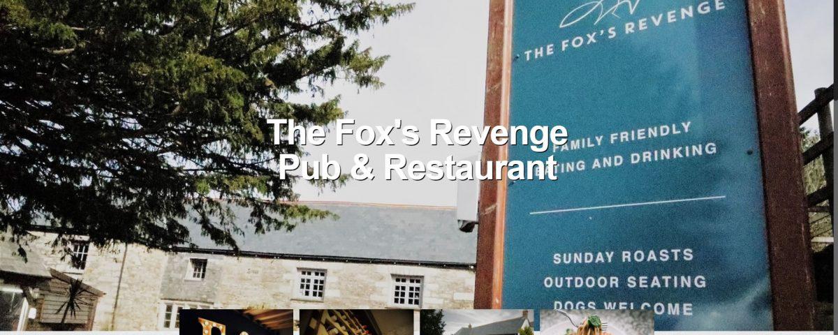 The Fox's Revenge Website