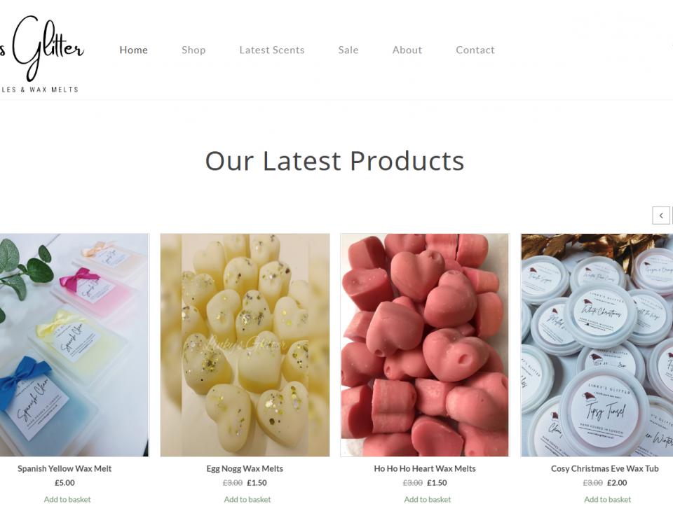 Linky's Glitter Website